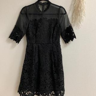 リリーブラウン(Lily Brown)の結婚式 パーティー ドレス ワンピース(ミディアムドレス)