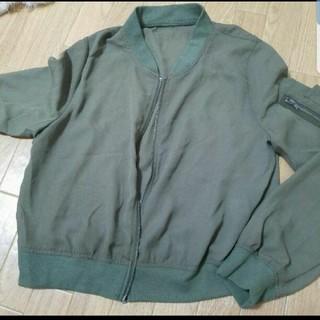 シマムラ(しまむら)のミリタリージャケット(ミリタリージャケット)
