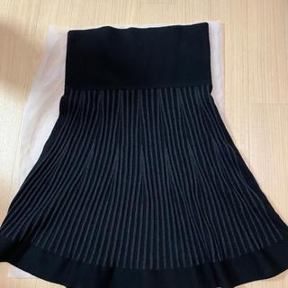コントワーデコトニエ(Comptoir des cotonniers)のニットスカート(ひざ丈スカート)