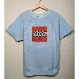 レゴ(Lego)のUSA製 Tultex LEGO 半袖スウェット 水色(スウェット)