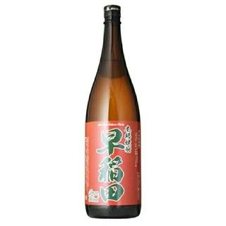 本格芋焼酎 早稲田(赤ラベル) 25度 1.8L(焼酎)
