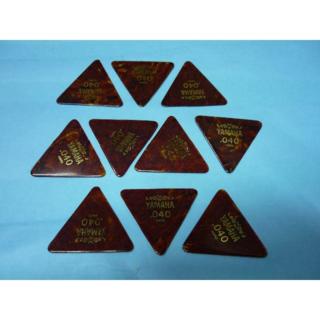 YAMAHA 正三角形ピック 10枚セット  厚さ:040 (長期在庫品) (その他)