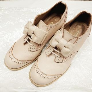 ジェーンマープル(JaneMarple)のJaneMarple  オペラリボンのウイングチップ(ローファー/革靴)