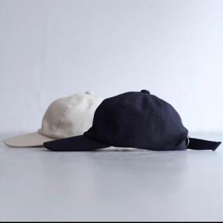 コモリ(COMOLI)のLECHOPPE LE 6 PANEL CAP エルイー レショップ キャップ(キャップ)