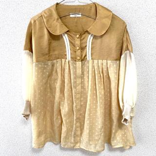 カロリナグレイサー(CAROLINA GLASER)のCAROLINAGLASER レース(シャツ/ブラウス(半袖/袖なし))