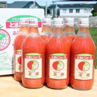 【食品ロス削減】トマトジュース ふるさとの元気 500m×6本セット×2ケース(野菜)