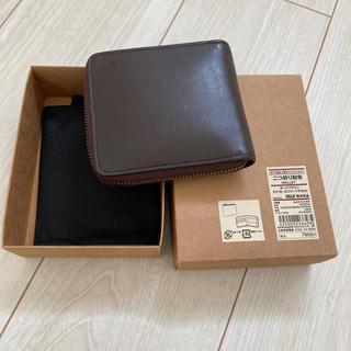 ムジルシリョウヒン(MUJI (無印良品))の無印 二つ折りファスナー財布(財布)