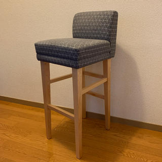 イデー(IDEE)のIDEE  low back high stool(スツール)