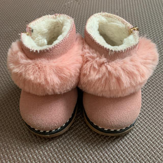 ティンバーランド(Timberland)のムートン ブーツ 赤ちゃん 子供 ピンク(ブーツ)