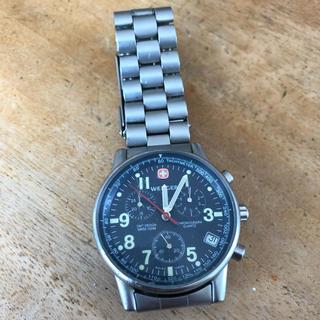 ウェンガー(Wenger)のWENGER 時計 ジャンク 部品取り 青島 ウェンガー(腕時計(アナログ))