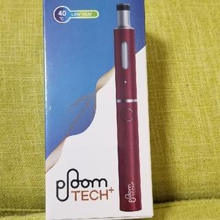 プルームテック(PloomTECH)のプルームテックプラス 新品 リラックスワインレッド(タバコグッズ)