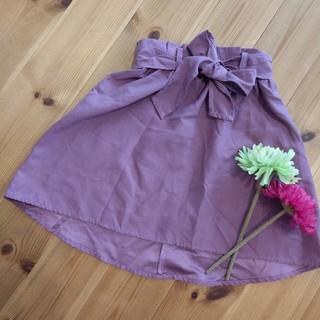 シマムラ(しまむら)のバースデイ スカート 110 パープル(スカート)