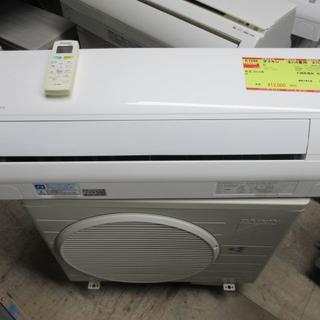 ダイキン(DAIKIN)のK1246 ダイキン 中古エアコン 主に6畳用 冷2.2kw/暖2.2kw(エアコン)