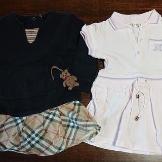 バーバリー(BURBERRY)のBURBERRYとCELINE子供服三点セット【80~90】(その他)