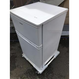 アイリスオーヤマ(アイリスオーヤマ)のIRIS OHYAMA 2ドア冷凍冷蔵庫 AF81-W 2018(冷蔵庫)