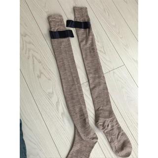アクアガール(aquagirl)のアクアガール  リボンつき靴下(靴下/タイツ)