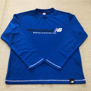 ニューバランス(New Balance)のNB ニューバランス ロンT 140㎝ 長袖Tシャツ 青(Tシャツ/カットソー)