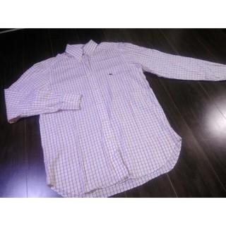 エトロ(ETRO)のETRO/エトロ/チェック/シャツ/ボタンダウン/ロゴ/刺繍/ドレスシャツ(シャツ)