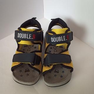 ダブルビー(DOUBLE.B)の18.0 ミキハウス ダブルB サンダル(サンダル)