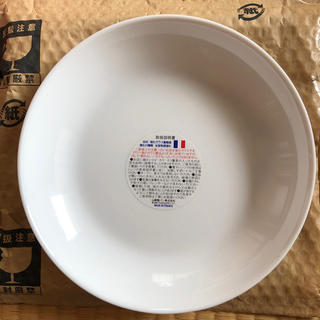 ヤマザキセイパン(山崎製パン)のヤマザキ 春のパンまつり 白 皿 プレート 丸皿 食器(食器)