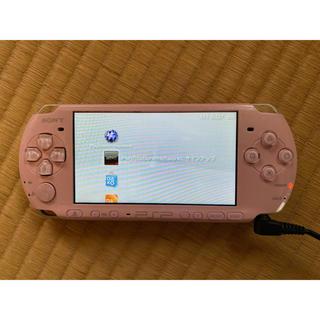 プレイステーション(PlayStation)の※ジャンク品 PSP本体 ピンク(携帯用ゲーム機本体)