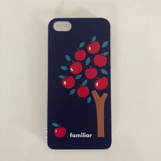 ファミリア(familiar)のファミリア スマホケース iPhone SE用(iPhoneケース)