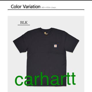 カーハート(carhartt)のcarhartt カーハート メンズ Tシャツ ブラック(Tシャツ/カットソー(半袖/袖なし))