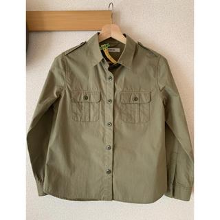 アミウ(AMIW)のAMIW ミリタリーシャツ サイズ38 (シャツ/ブラウス(長袖/七分))