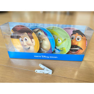 ディズニー(Disney)の【新品・未使用】トイストーリー メラミンプレート 小皿(プレート/茶碗)