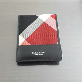 ブラックレーベルクレストブリッジ(BLACK LABEL CRESTBRIDGE)の【美品】BLACK LABEL CRESTBRIDGE 二つ折財布 チェック柄(折り財布)