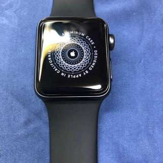 アップルウォッチ(Apple Watch)のアップルウォッチ Apple Watch 3 38ミリ 38mm 本体(腕時計(デジタル))