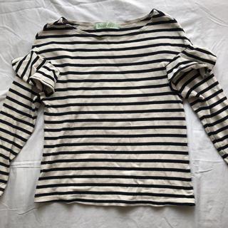 ドットアンドストライプスチャイルドウーマン(Dot&Stripes CHILDWOMAN)のDot&Stripes CHILD WOMAN ボーダー(カットソー(長袖/七分))