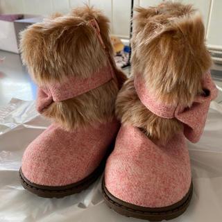ブーツ 女の子 ピンク14センチ(ブーツ)