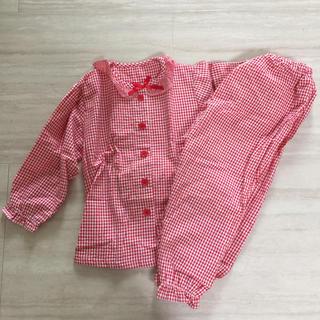 ニシマツヤ(西松屋)のはる様  長袖パジャマ  80(パジャマ)