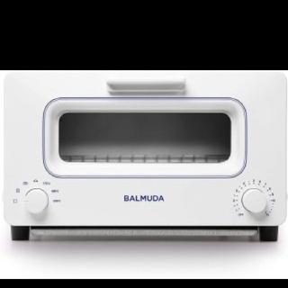 バルミューダ(BALMUDA)のBALMUDA バルミューダ ホワイト&ブルー  トースター(調理機器)