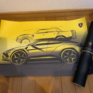 ランボルギーニ(Lamborghini)のランボルギーニ ウルス ポスター(カタログ/マニュアル)