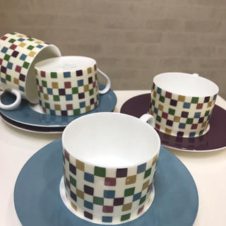 シビラ(Sybilla)のシビラ コーヒーカップ&ソーサー 美品 値下げ(グラス/カップ)