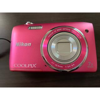 ニコン(Nikon)のNIKON コンパクトデジタルカメラ COOLPIX 2005万画素 S3500(コンパクトデジタルカメラ)