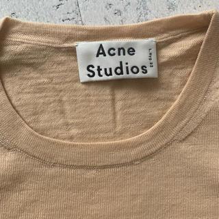 ACNE - Acne Studios 春ニット ベージュ