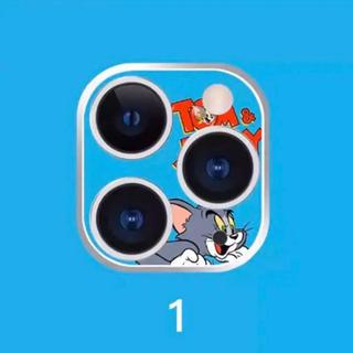 ディズニー(Disney)のiPhone11用❤️トムとジェリーのトムのカメラレンズカバー❤️即送(保護フィルム)