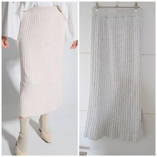 レディメイド(LADY MADE)のLADYMADEのニットロングスカート(ロングスカート)