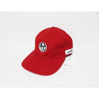 ナナミカ(nanamica)の新品 nanamica キャップ レッド 日本製 ナナミカ 帽子(キャップ)
