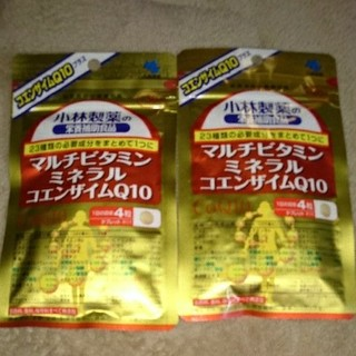 コバヤシセイヤク(小林製薬)の小林製薬 マルチビタミンミネラル コエンザイムQ10 ×2(ビタミン)