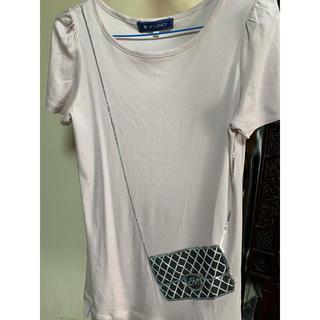 エムズグレイシー(M'S GRACY)のエムズグレイシー38チュニックTシャツ(Tシャツ(半袖/袖なし))