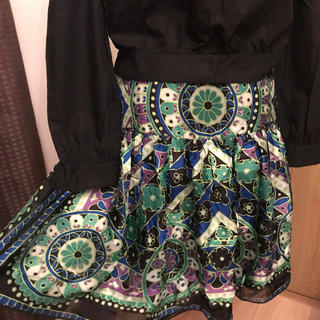 アナスイ(ANNA SUI)のアナスイ ANNA SUI【美品】スカート(ひざ丈スカート)