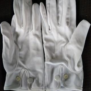 ●難あり未使用品● ナイロン100%素材 白手袋⑮(24-9.5cm)(手袋)