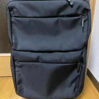 ムジルシリョウヒン(MUJI (無印良品))のk様専用) 無印良品 ソフトキャリーケース 36ℓ 機内持込可 ブラック(スーツケース/キャリーバッグ)