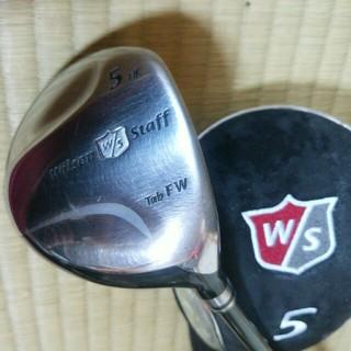 ウィルソンスタッフ(Wilson Staff)のウィルソン スタッフ ゴルフクラブ 5番フェアウェイウッドS 純正ヘッドカバー付(クラブ)