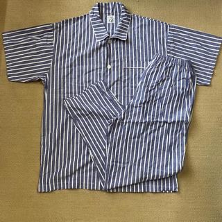 ワコール(Wacoal)のパジャマ上下セット ワコール 美品 ストライプ 日本製(その他)
