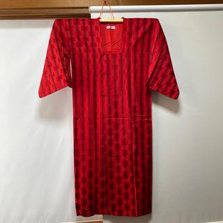 三越 - 着物 コート 羽織 赤